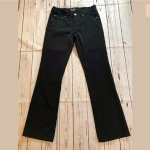Ralph Lauren Polo Jeans Co Black Bootcut Pants